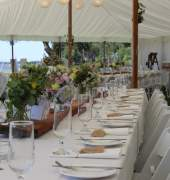 Rope and Pole Marquee
